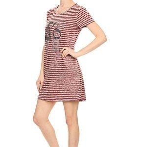 2/$26 3/$36 Summer T-shirt dress soft and comfy PJ